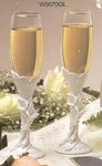 Calla Lily Elegance Toasting Flutes