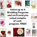 **Free Wedding Program Samples**