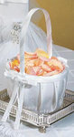Sophisticate Flower Girl Basket