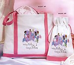 Wedding Party Ready for Action Canvas Bag - 2 Sizes!