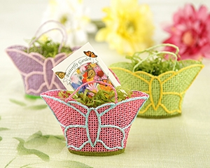 Butterfly Garden Gift Baskets With Wildflower Seed Packets Set Of 12