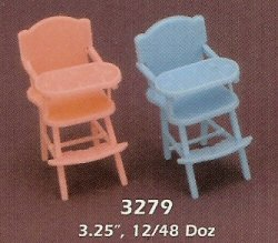3.25 Baby High Chair - 2 Colors!