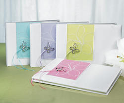 Butterfly Dreams Traditional Guest Book