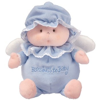Baby Ty BLESSINGS TO BABY Angel - Blue