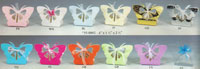 12 Butterfly Favor Boxes - Colors!