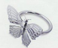 Butterfly Napkin Ring - 2 Colors