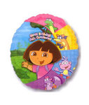 18 Happy Birthday Dora Mylar Balloon