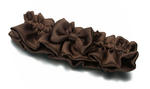 Chocolate Brown Bridal Garter