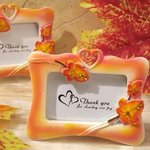 Fall Leaf Theme Favor Frame