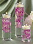 Glass Cylinder Tealight Holders
