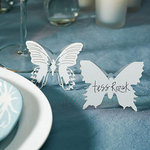 Laser Expressions Butterfly Folded Place Card - Colors!