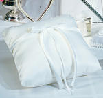 Sophisticate White Ring Pillow