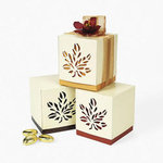 Fall Wedding Favor Boxes - Pkg 12