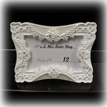 Elegant Lace Place Card Frame