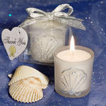 Shell Design Candle Favor