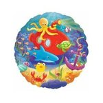 18 Sea Life Mylar Balloon