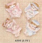 Baby Girl or Boy Angel Magnet Favors