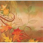 Autumn Aria Luncheon Napkins - Pkg 16