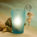 Hanging Shells Candle Holder Favor
