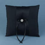 Midnight Rendezvous Ring Pillow