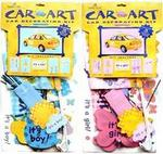 Its a Boy or Its a Girl Car Decoration Kit