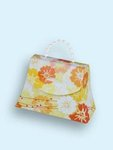 Orange & Yellow Peony Floral Favor Boxes - Pkg 24