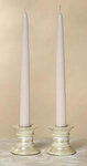 Pair of 10 Taper Candles - Ivory or Soft White