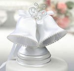 Butterfly Beauty White Bells Caketop