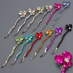 Bold & Beautiful Butterfly Design Bobby Pin - Colors!