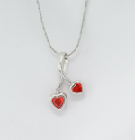 Drop Hearts Necklace - Colors!