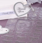 Silver or Gold Thank You Seals - Pkg 47