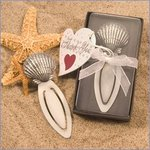Gift Boxed Shell Bookmark Favor
