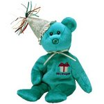 Ty Beanie Baby DECEMBER the Bear