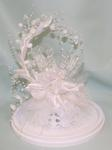 Glass Butterfly Cake Top