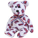 Ty Beanie Baby JACK the Bear