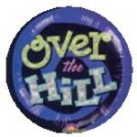 OVER the HILL Holographic Dinner Plates - Pkg 8