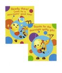Rolie Polie Olie Invitations or Thank You Cards