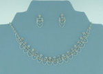 Lovely Loops Rhinestone Necklace Set
