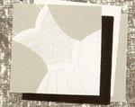 White Bridal Gown Luncheon Napkins - Pkg 16