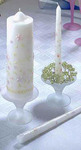Garden Party Foral Candle Set