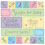 Coming Soon Baby Shower Beverage Napkins - Pkg 16