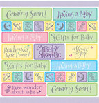 Coming Soon Baby Shower Tablecover